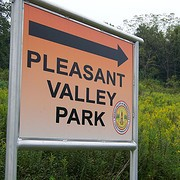 Pleasant Valley Park Sign
